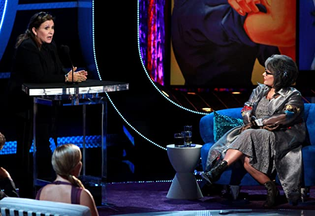Carrie Fisher and Roseanne Barr in Comedy Central Roast of Roseanne (2012)