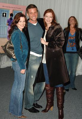 Marcia Cross, Laura Leighton, and Doug Savant at Transamerica (2005)