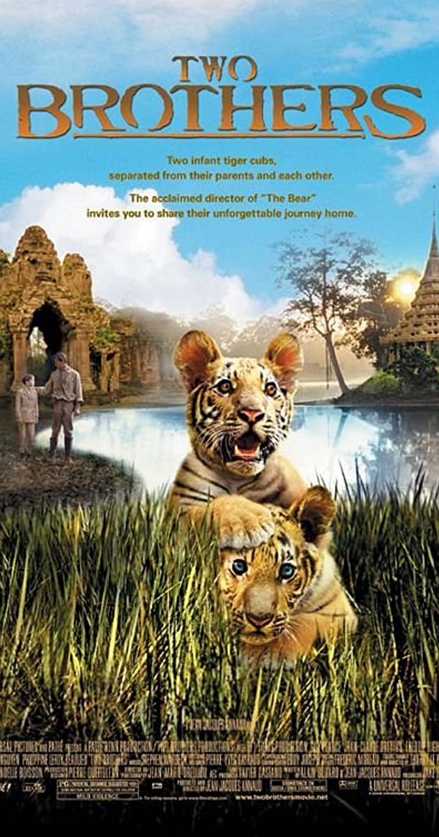 Du broliai – tigrės vaikai / Two Brothers (2004)