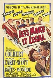 Let's Make It Legal(1951) Poster - Movie Forum, Cast, Reviews