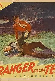 The Stranger from Texas Poster