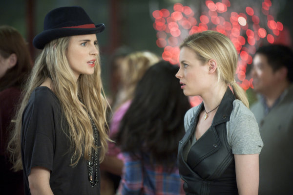 Brit Marling and Gillian Jacobs in Community (2009)
