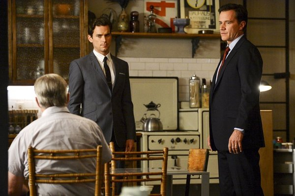 Treat Williams and Matt Bomer in White Collar (2009)