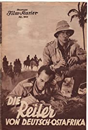 The Riders of German East Africa Poster