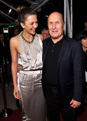 Robert Duvall and Maggie Gyllenhaal at Crazy Heart (2009)