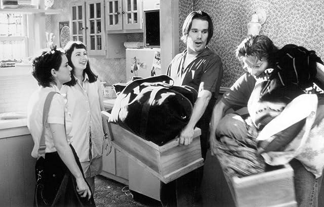 Ethan Hawke, Winona Ryder, Janeane Garofalo, and Steve Zahn in Reality Bites (1994)