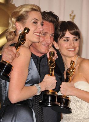 Sean Penn, Kate Winslet, and Penélope Cruz