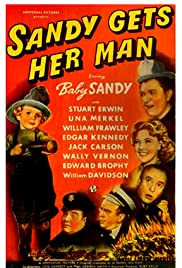 Sandy Gets Her Man Poster