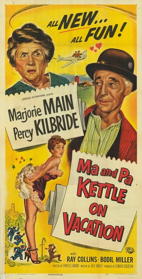 Image Ma and Pa Kettle on Vacation Watch Full Movie Free Online