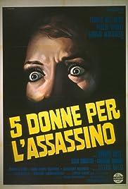 5 donne per l'assassino Poster