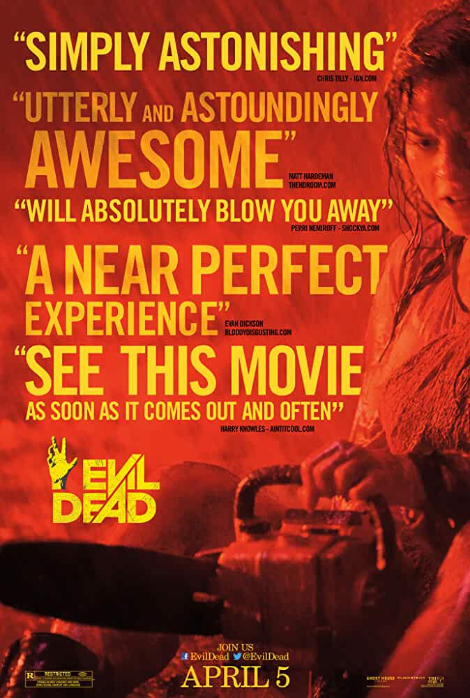 Evil Dead 2013 720p BRRip Dual Audio watch online free download at movies365