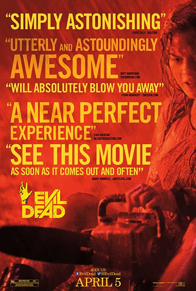 Evil Dead 2013 720p HEVC BluRay x265 400MB