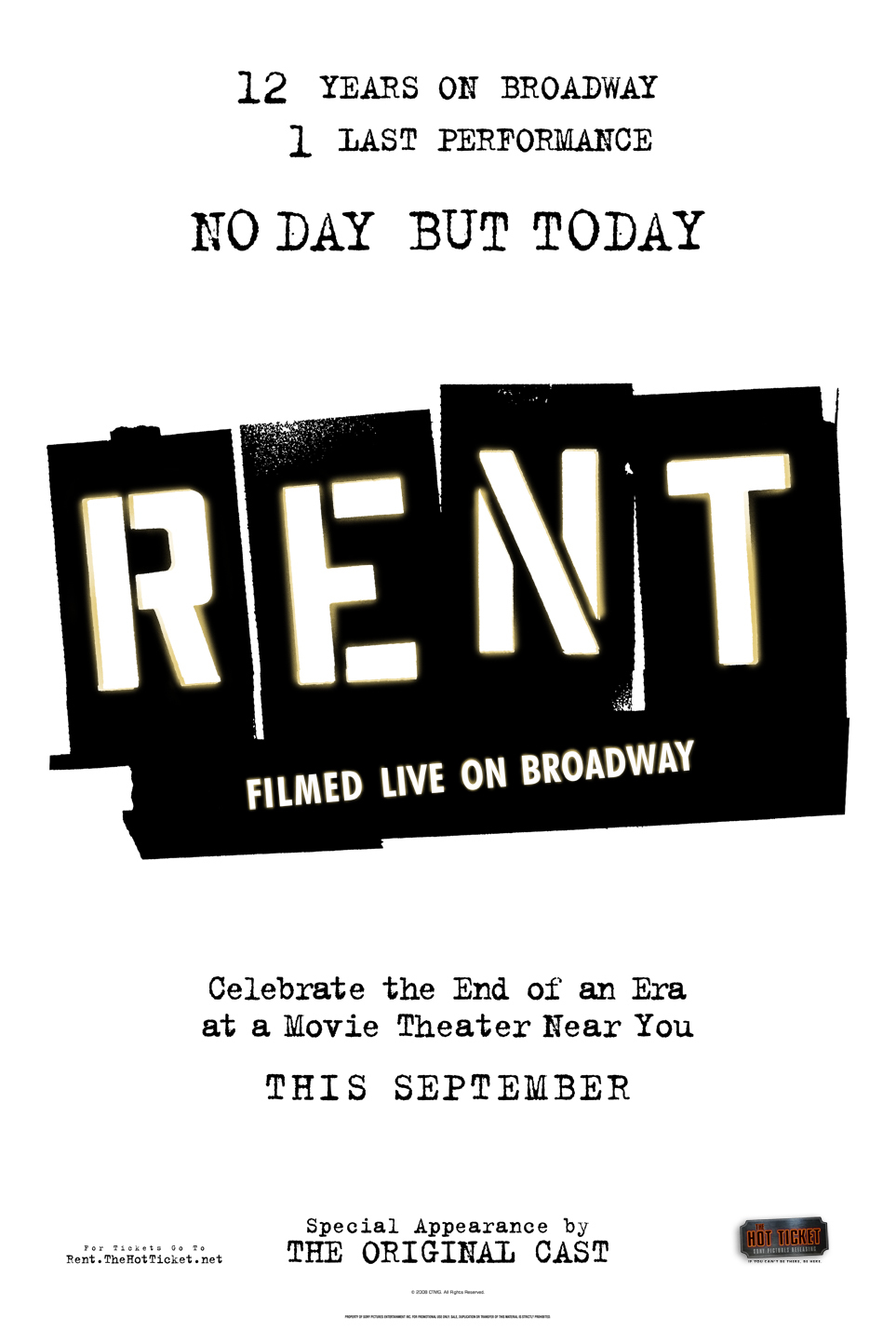 image Rent: Filmed Live on Broadway (2008) (TV) Watch Full Movie Free Online