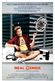 Real Genius (1985) Poster - Movie Forum, Cast, Reviews
