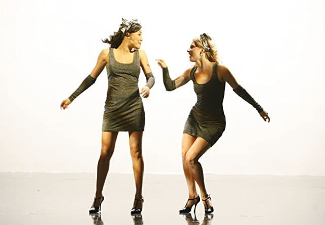 Naya Rivera and Heather Morris in Glee (2009)