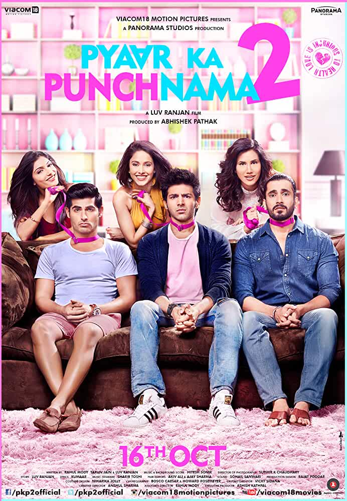 Pyaar Ka Punchnama 2 2015 Hindi 720p BluRay 999MB