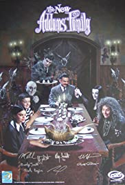 Halloween with the Addams Family Poster