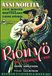 Rion yö Poster