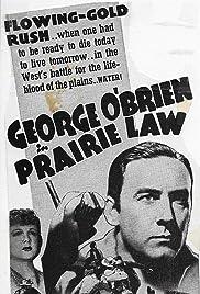Prairie Law Poster