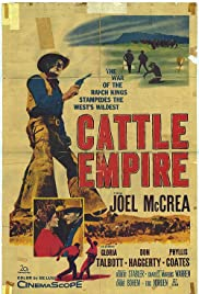 Cattle Empire (1958) Poster - Movie Forum, Cast, Reviews