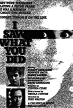 Primary image for I Saw What You Did