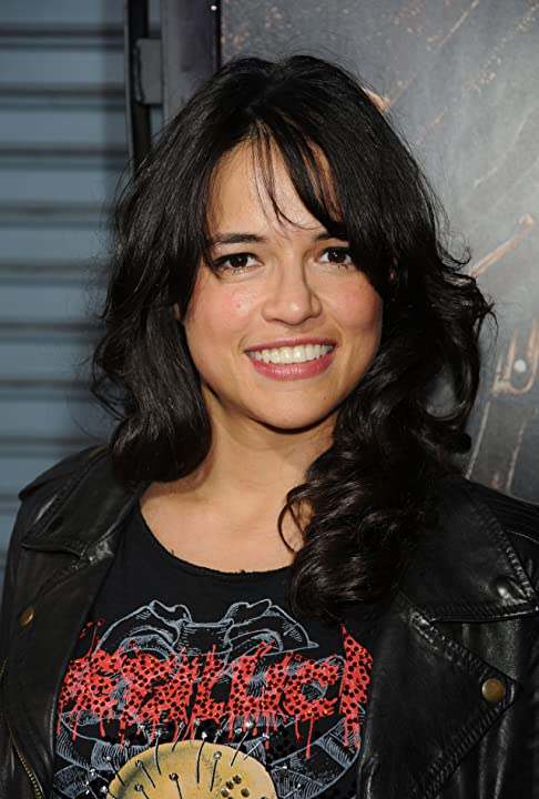 Michelle Rodriguez at an event for Machete (2010)