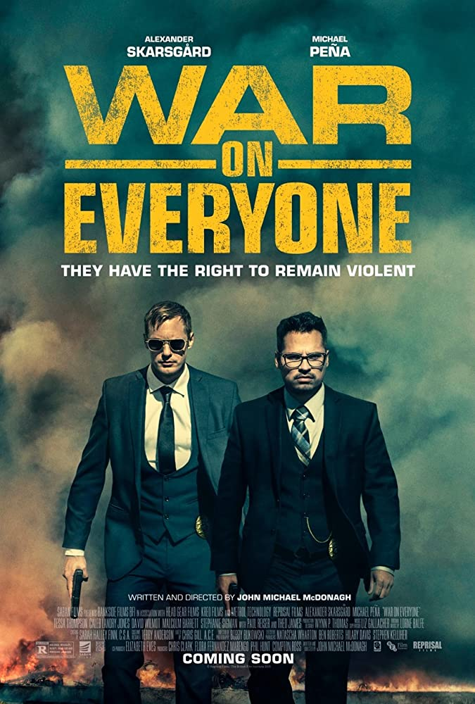 War on Everyone 2016 1080p HEVC WEB-DL 500MB