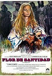 Flor de santidad Poster