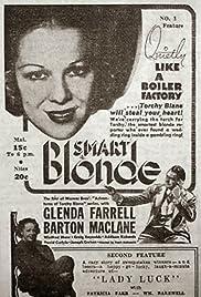 Smart Blonde Poster