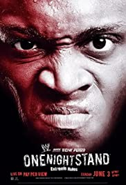 WWE One Night Stand (2007) Poster - TV Show Forum, Cast, Reviews