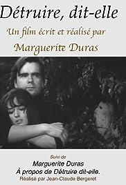 Détruire dit-elle(1969) Poster - Movie Forum, Cast, Reviews