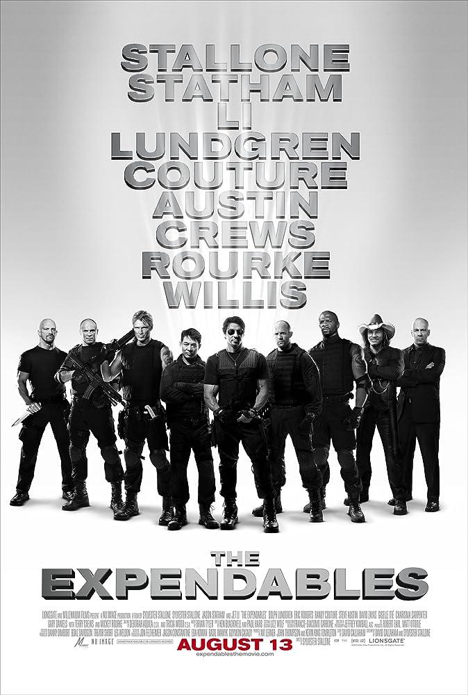 敢死队1-3 The Expendables  (2014)