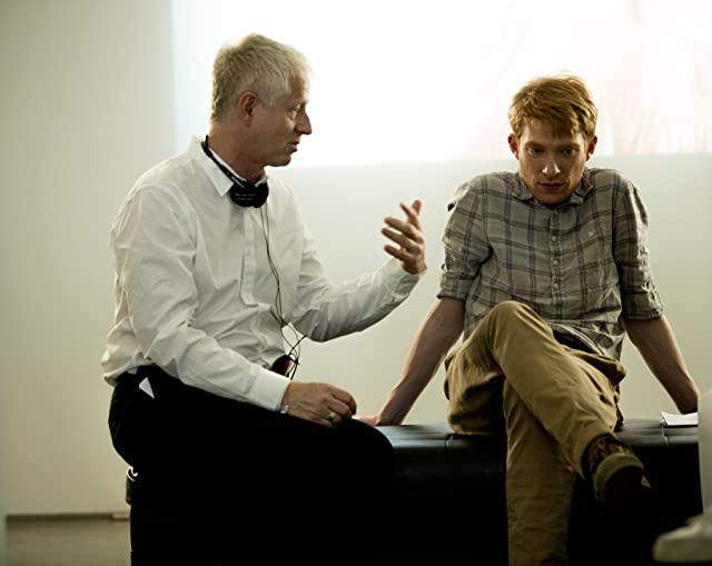 Richard Curtis and Domhnall Gleeson in About Time (2013)