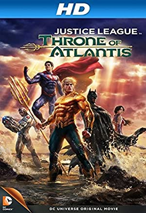 Justice League: Throne of Atlantis (2015) Download on Vidmate