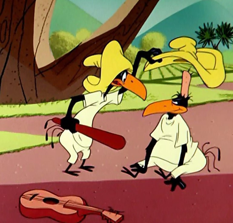 2 Crows Cartoon Characters : Cartoon with two mexican mice adultcartoon