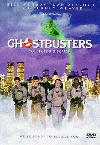 Dan Aykroyd, Bill Murray, Harold Ramis, and Ernie Hudson in Ghostbusters (1984)
