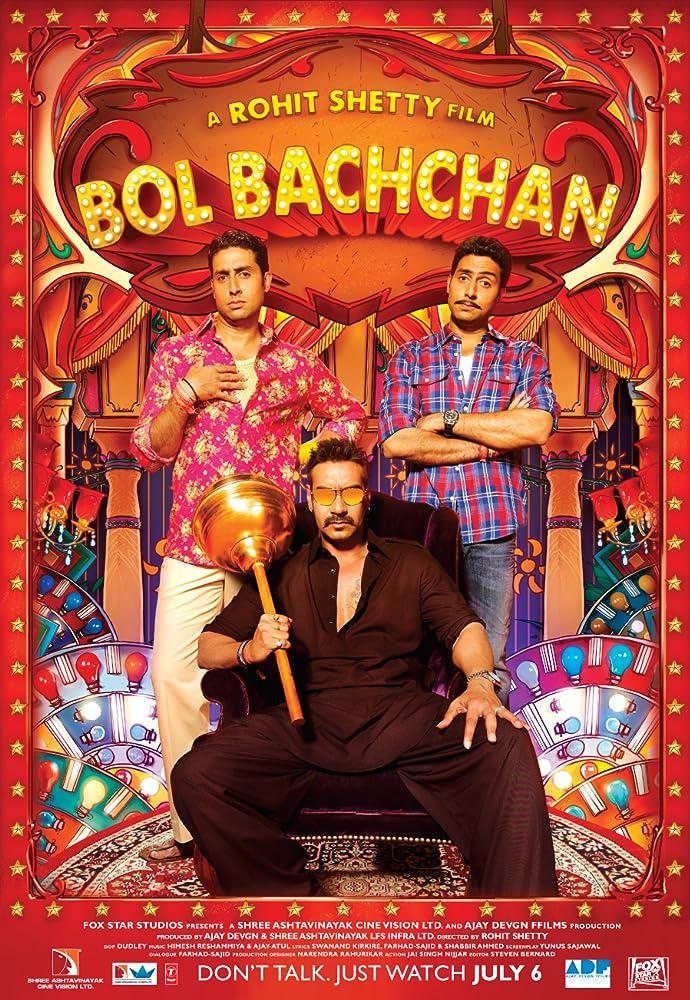 Bol Bachchan 2012 Hindi 720p BluRay 300MB Movies