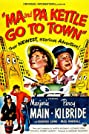 Ma and Pa Kettle Go to Town (1950) Poster