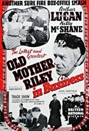 Old Mother Riley in Business Poster