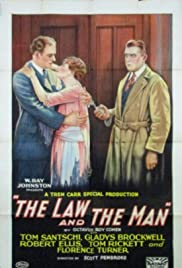 The Law and the Man Poster