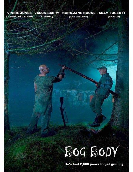 Vinnie Jones, Nora-Jane Noone, Jason Barry and Adam Fogerty star in Brendan Foley's horror tale Bog Body.