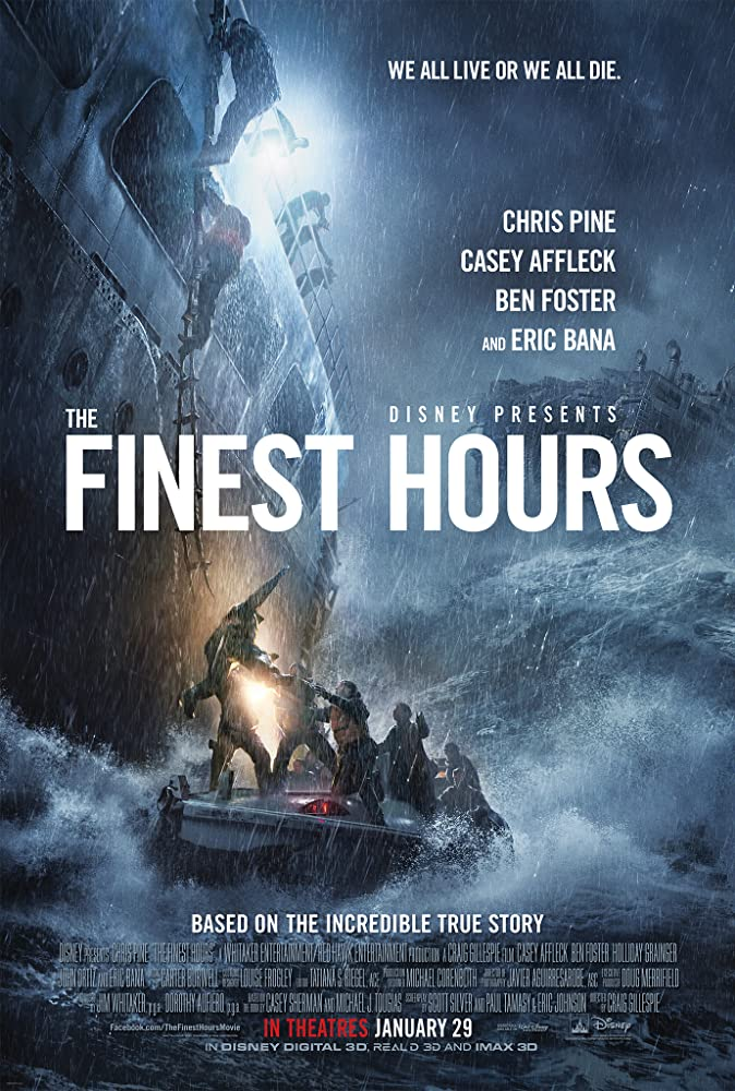 The Finest Hours 2016 Dual Audio Movie 960MB