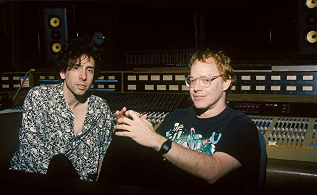 Tim Burton and Danny Elfman in The Nightmare Before Christmas (1993)