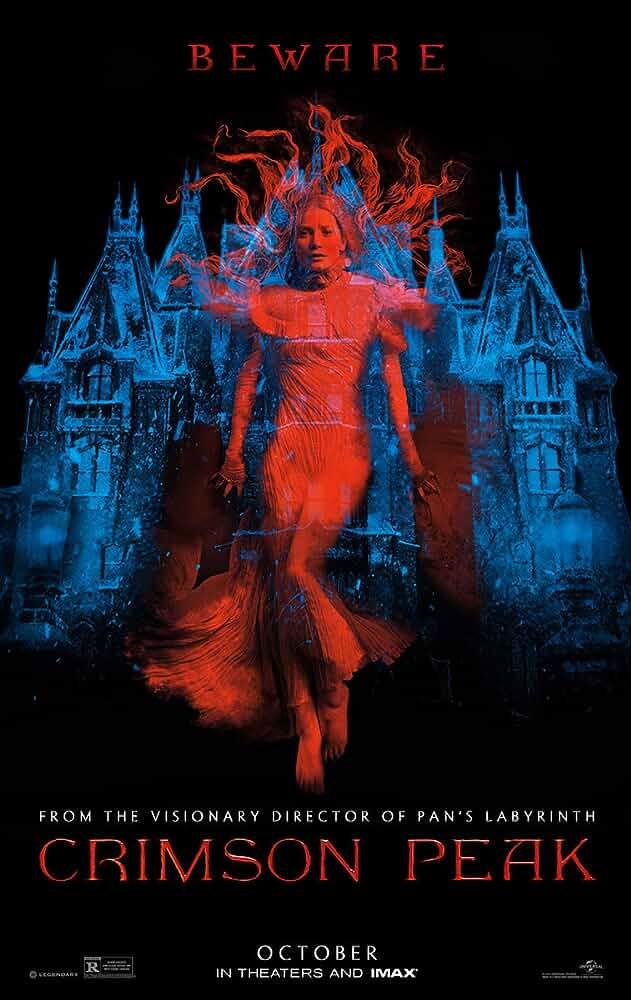 Poster Crimson Peak 2015 Full HD Movie Download Dual Audio Free 300MB