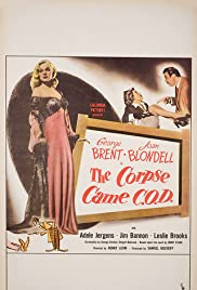 The Corpse Came C.O.D. (1947) Poster - Movie Forum, Cast, Reviews