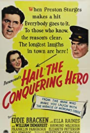 Hail the Conquering Hero (1944) Poster - Movie Forum, Cast, Reviews