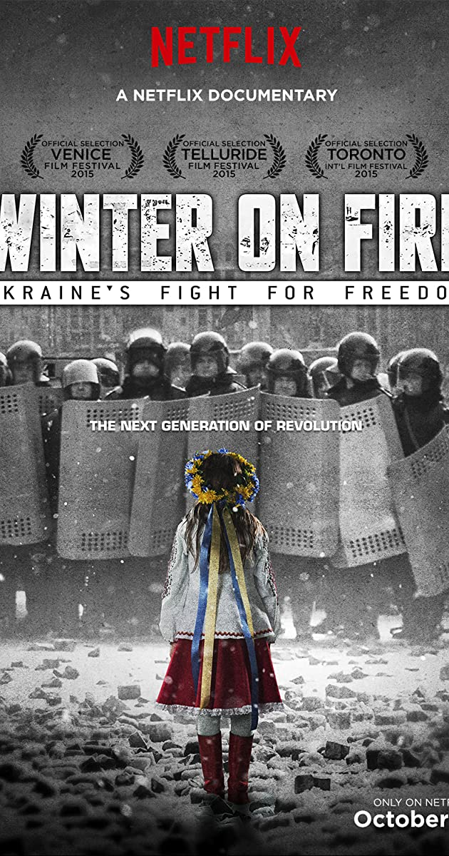 Image result for Winter On Fire: Ukraine's Fight for Freedom