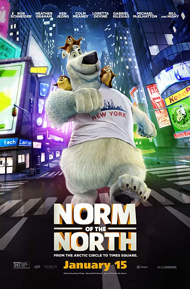 Norm of the North (2016) 1GB 720P BRRip Dual Audio [Hindi-English] Watch Online