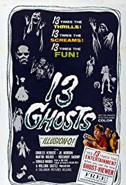 13 Ghosts Poster