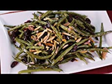Roasted Green Beans With Warm Vinaigrette, Part 1